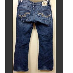 """Big Star 29 Sweet Ultra Low Boot Cur Jeans 30""""L"""